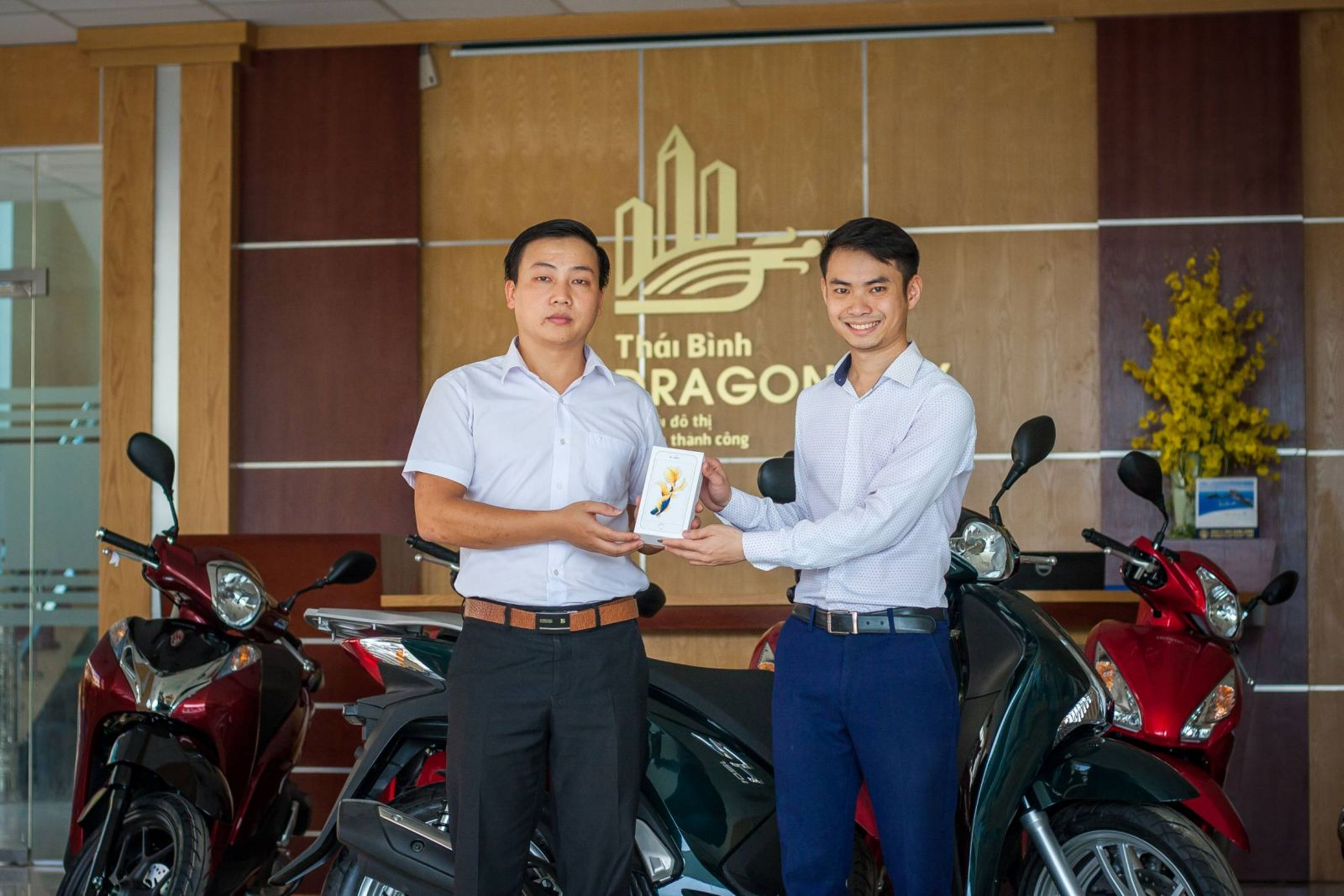 Trao thuong Ky dong Thai Binh Dragon city