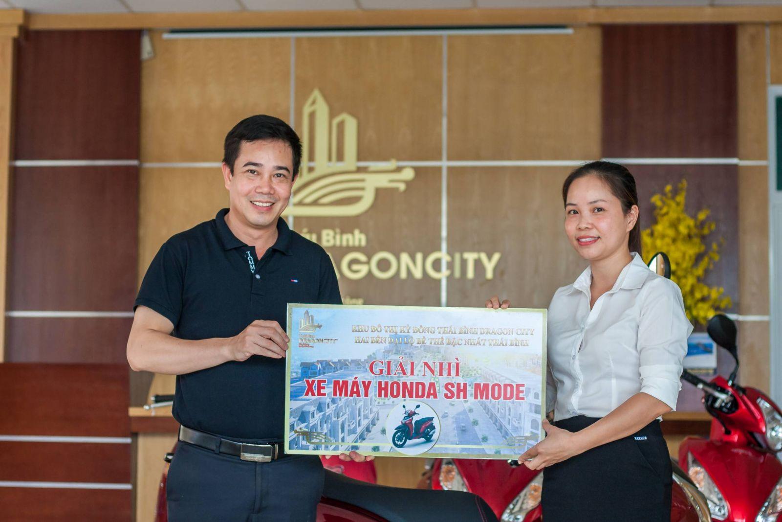 Trao thưởng Kỳ Đồng Thái Bình Dragon city